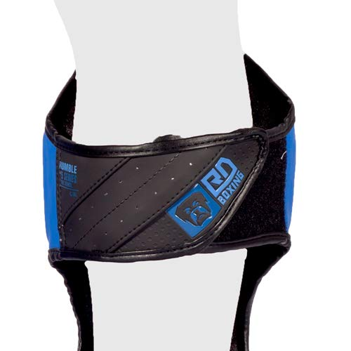 Muay Tha/ï HD V5 Noir//Bleu RD BOXING Protege Tibia//Pieds K1