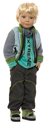 Sonja Hartmann Kidz n Cats Heart & Soul Niko 18'' Vinyl Jointed Boy Play Doll by Kidz and Cats