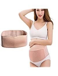 Maternity Belt, Belly Band for Pregnancy, Breathable Comfortable Back and Pelvic Support - Adjustable Belly Band for Pregnancy