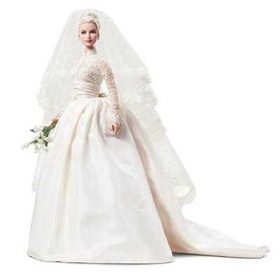 Mattel's Barbie Princess Grace Kelly Bride in Silkstone: Toys & Games
