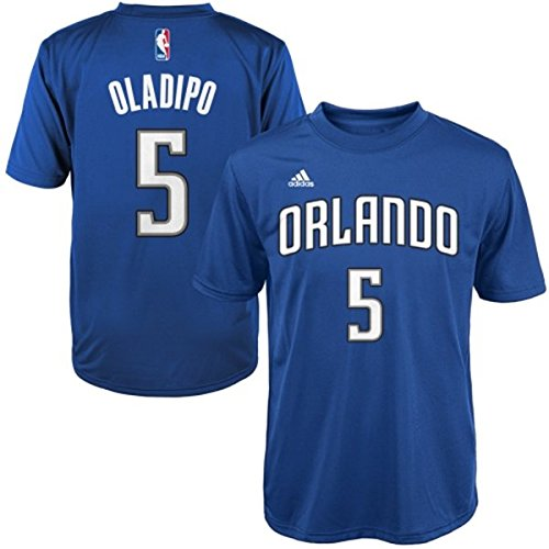 Victor Oladipo Orlando Magic #5 NBA Youth Name & Number Player T-Shirt Blue (Youth Medium 10/12)