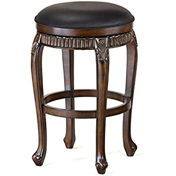 Hillsdale 62993 Fleur de Lis Backless Swivel Counter Stool 24  Distressed Cherry with  sc 1 st  Amazon.com & Amazon.com: Hillsdale 62994 Fleur de Lis Backless Swivel Bar Stool ... islam-shia.org