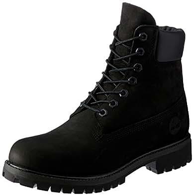 Timberland 6-Inch Premium Waterproof Boot (Toddler/Little Kid/Big Kid),Black Nubuck,1 M US Little Kid