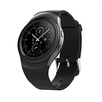 WXFC Reloj Inteligente Dial Rotativo Ritmo Cardíaco Pantalla Red Deportes Salud Llamada Despertador Reloj Moda Impermeable: Amazon.es: Deportes y aire libre
