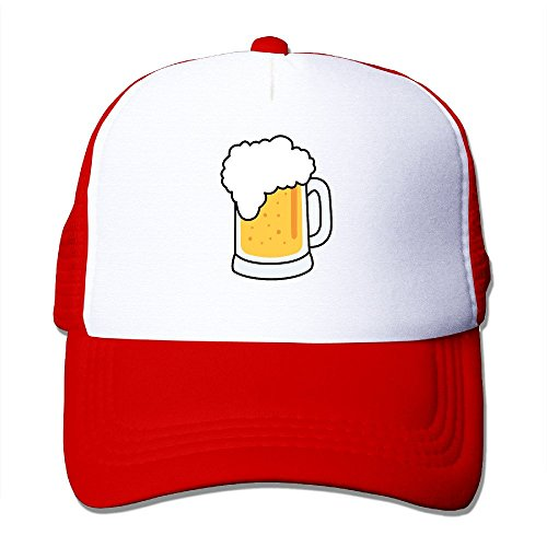 xssyz-i-love-beer-trucker-hat-mesh-cap-red