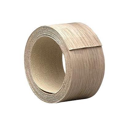"""Band It 28210 Wood Veneer Iron-on Edgebanding, 2"""" X 25', Red Oak"""
