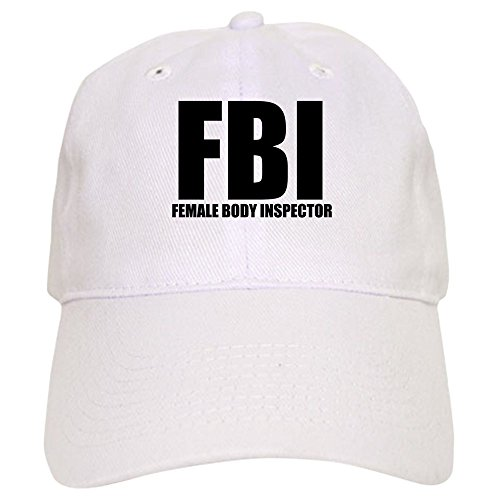 d2c0a589005 CafePress - FBI - FEMALE BODY INSPECTOR Cap - Baseball Cap with Adjustable  Closure