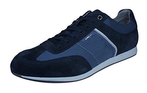 Geox Mens Sneakers U Clemet B Casual Shoes-Blue-9