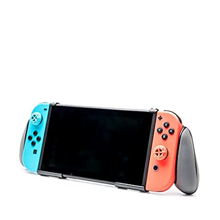 RDS Industries, Inc Nintendo Switch Goplay Grip Provides Comfortable Grip and Enhanced gameplay and Doubles As A Viewing Stand, Bonus Cleaning Cloth - Nintendo Switch