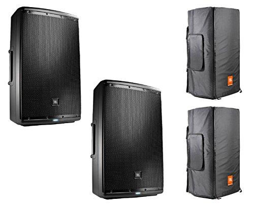 2x JBL EON615 + Convertible Covers (Jbl Convertible Cover)
