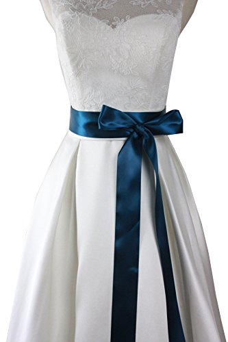 Simple Classic Colorful Ribbon Sash for Daily Dress - Colorful Wedding Dresses
