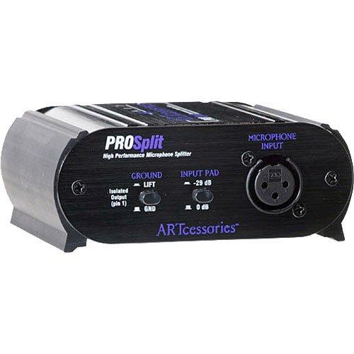 Isolated Mic - ART ProSplit High-Performance Transformer Isolated Microphone Splitter