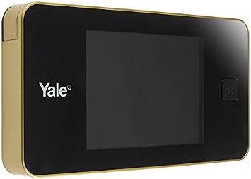 Mirilla digital Yale Dorada 45-0500