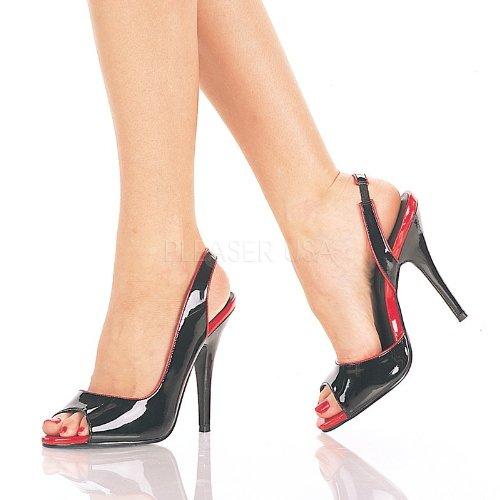 Pleaser Seduce-117 - Sexy Sling-Pumps High Heels 35-45, Größe EU-39 EU-39 EU-39   US-9   UK-6 85346f