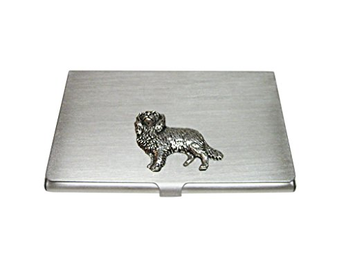 Cavalier King Charles Spaniel Dog Business Card Holder