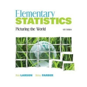 Elementary Statistics: Picturing the World 5th (fifth) edition pdf epub