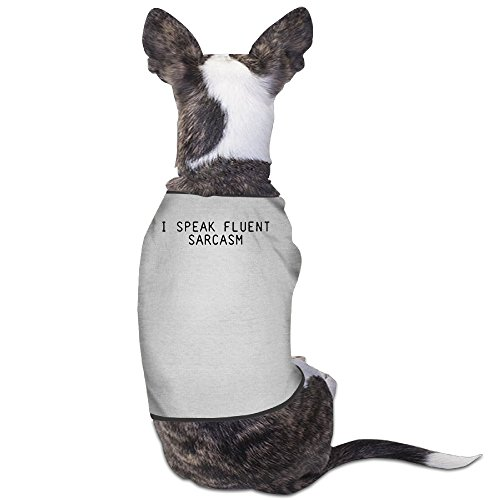 Theming I Speak Fluent Sarcasm Dog Vest (Wine Gift Baskets North Carolina)