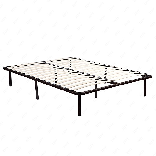 Mecor 14 Inch SmartBase, Mattress Foundation, Platform Bed Frame, Box Spring Replacement, Wooden Slats,Queen Size by Mecor