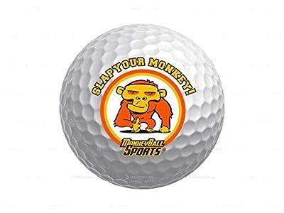 MonkeyBall Sports Slap Your Monkey Distance Golf Balls (One Dozen)