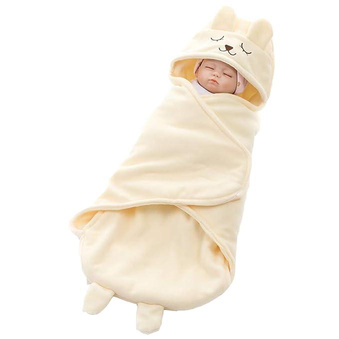 mama stadt Saco de Dormir Oso Recién Nacido con Pies Primavera Verano y Otoño 73X35CM: Amazon.es: Ropa y accesorios