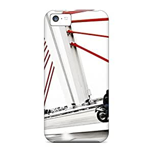 For QOK10115emWp Ducati Monster Ride Protective Cases Covers Skin/iphone 5c Cases Covers