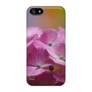 High Quality Shock Absorbing Case For Iphone 4/4s-pink Flower Hortense