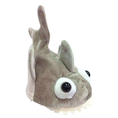 TOYMYTOY Shark Hat Dress Up Cotton Hat Cute Animal Costume Hat for Adult Child Birthday Halloween Party by TOYMYTOY