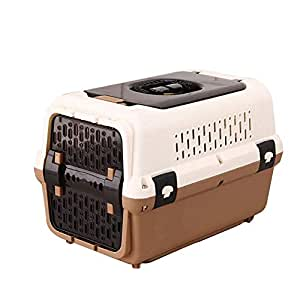 ACZZ Caja de aire para mascotas, caja para gatos Check Dog con ...