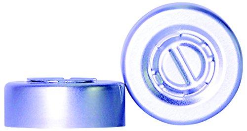 Wheaton 700008 Centre Tear Off Aluminium Seal Aluminium//Silver Pack of 1000 20 mm