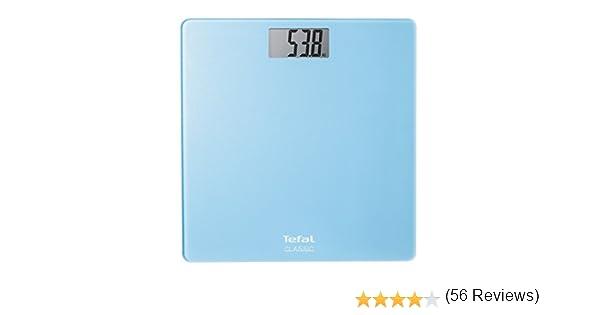Tefal Classic - Báscula de baño digital, pantalla LCD, peso máximo 160 kg, graduación 100 gr: Tefal: Amazon.es: Salud y cuidado personal