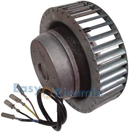 Ventilador centrífugo MES M15 91923 CLF estufa de pellets largo 85 ...