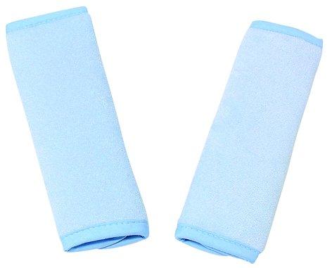 Reversible Strap Covers - 1 Pair (Pale Blue) Goldbug 1350010