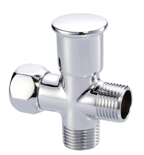 Danze D481350 Push Pull Showerarm Diverter, Chrome