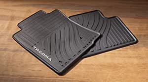 Longo Toyota Service >> Amazon.com: Genuine Toyota Rubber All Weather Floor Mats ...