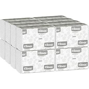 90 Towels// Case Kleenex Slimfold Multi-Fold Paper Towel 04442 24 Case s