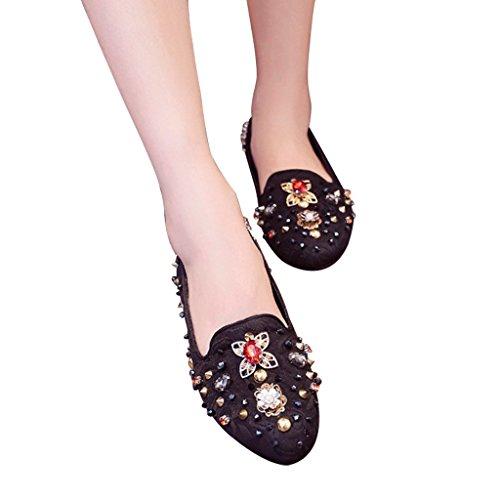 Jushee - Zapatillas Bajas mujer negro