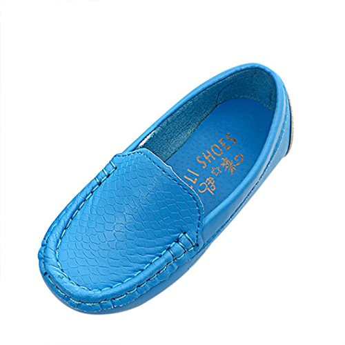 Tefamote Zapatos Botas Zapatillas de Deporte Suela Casual Cuna Ocio Antideslizante Para Bebé Recién Nacido Niño niña Azul