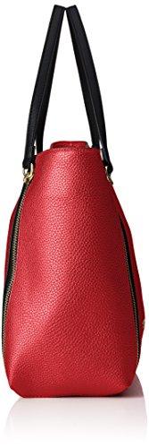 Guess Damen Angie Tote Handtaschen, Einheitsgröße Rot (Rosso)