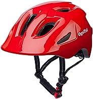 Kids Bike Helmet Cycling Helmet Adjustable Lightweight Multi-Sport Helmet with Removable Liners for 3-14 Years