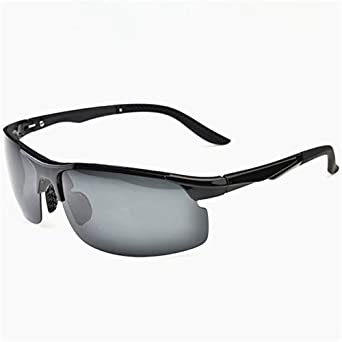 Z-P Classical Men's Outdoor Sports Bicycle Aviator TR90 Memory-metal Frame Polarized Lens Sunglasses 72MM VvwVxxVHC6