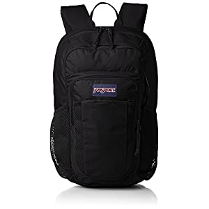 "JanSport Mens Digital Carry Mainstream Node Backpack - Black / 18""H X 10.4""W X 7""D"
