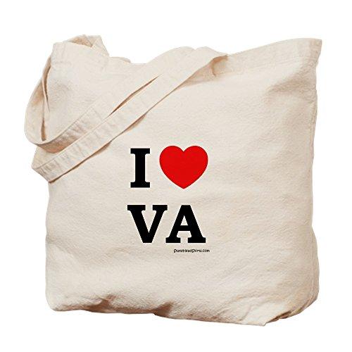 CafePress–Virginia _ 2–Gamuza de bolsa de lona bolsa, bolsa de la compra