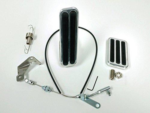 Billet Pedal Kit - Billet Aluminum Gas & Brake Pedal / 36