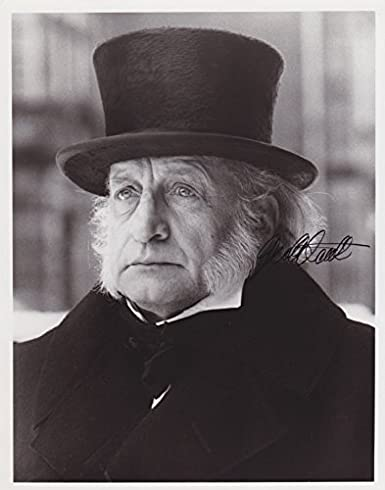 George C Scott A Christmas Carol.George C Scott Scrooge A Christmas Carol Signed 8x10