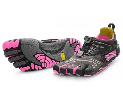 Vibram FiveFingers KMD Sport LS Women's Training Shoes - 6 - Black
