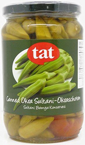- Canned Okra - Sultani 670 Gr / 23.6 Oz