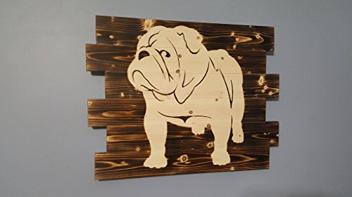 English Bulldog Wall Art (Art Wall Bulldog)