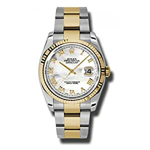 Rolex Datejust Mother of Pearl Dial Unisex Watch 116233