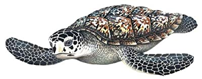 Sea Turtle Sticker Mural by Walls of the Wild