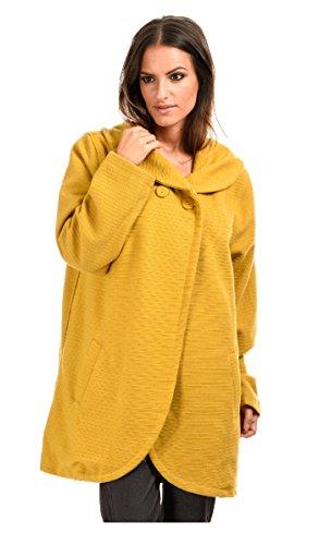 Bella blue - Abrigo LEANA - Mujer Amarillo
